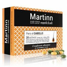 MARTINN COMPLEMENTO ALIMENTICIO PARA EL CABELLO 60comp NUGGELA & SULÉ Suplementos nutricionales 26,33€