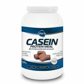 CASEIN PROTEIN MEAL CHOCOLATE BROWNIE 1,5kg PWD Nutrición Deportiva 48,94 €