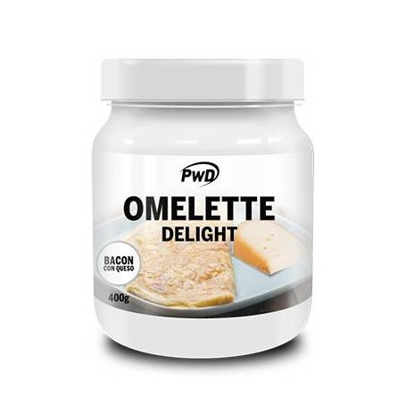 OMELETTE DELIGHT BACON QUESO 400g PWD Nutrición Deportiva 16,07€