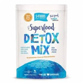 DETOX MIX 210g SFOODS EAT SMART Suplementos nutricionales 22,70€