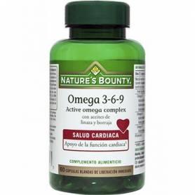 Omega 3-6-9 active omega complex 60cap NATURE'S BOUNTY Suplementos nutricionales 13,45€