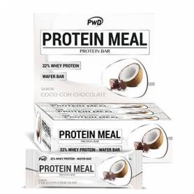 BARRRITAS PROTEIN MEAL CHOCO COCO 35g x 12ud PWD