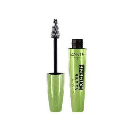 Mascara fresh volumen extreme 01 black 10ml SANTE Mascaras Faciales 8,74 €