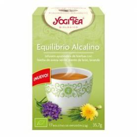 TE EQUILIBRIO ALCALINO 17ud YOGI TEA Infusiones 3,33€
