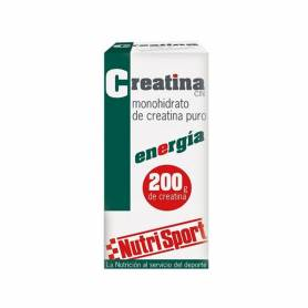 Creatina monohidrato 200comp NUTRI SPORT Nutrición Deportiva 30,97€