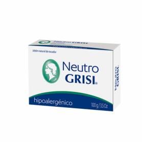 Jabón neutro hipoalergénico 100g GRISI Cosmética e higiene natural 3,24€
