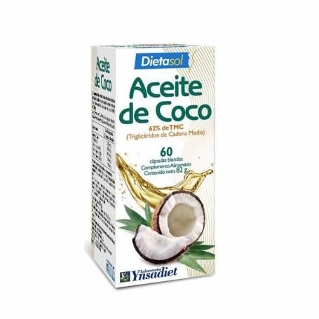 Aceite de coco 60cap 1000mg. YNSADIET Suplementos nutricionales 13,90€