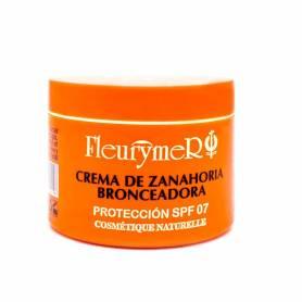 Crema bronceadora zanahoria spf7 110ml FLEURYMER Protección Solar 9,86€