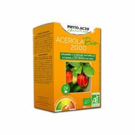 Acerola bio 2000 vitamina C 24 comp PHYTO ACTIF Inicio 15,70€