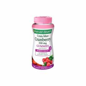 Cran max arándano rojo 60 gummies NATURE'S BOUNTY Plantas Medicinales 17,96€