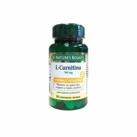 L-carnitina 500mg 30comp NATURE'S BOUNTY Suplementos nutricionales 11,19€
