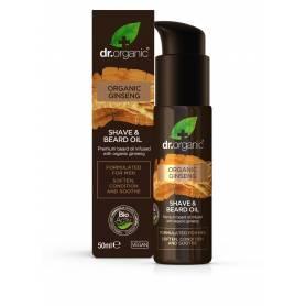 Aceite para barba y afeitado de Ginseng orgánico 50ml