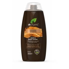 Gel de ducha y cabello de Ginseng orgánico 250 ml.