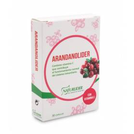 Arandanolíder std 30 cápsulas vegetales