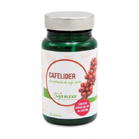 Cafelíder (extracto de café verde) 60 cápsulas vegetales