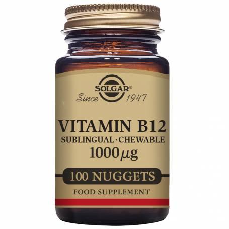 Vitamina B12 1.000 µg (Cianocobalamina) 100 Comprimidos masticables
