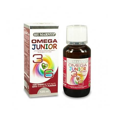 OMEGA 3+6 JUNIOR JARABE 125ml MARNYS Suplementos nutricionales 17,30€