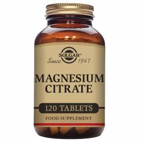 Citrato de magnesio. 120 comprimidos