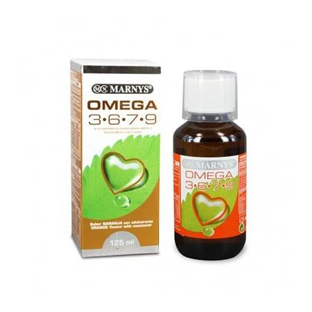OMEGA 3-6-7-9 JARABE 125ml MARNYS Suplementos nutricionales 13,09€