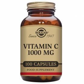 Vitamina C 1000. 100 cápsulas vegetales