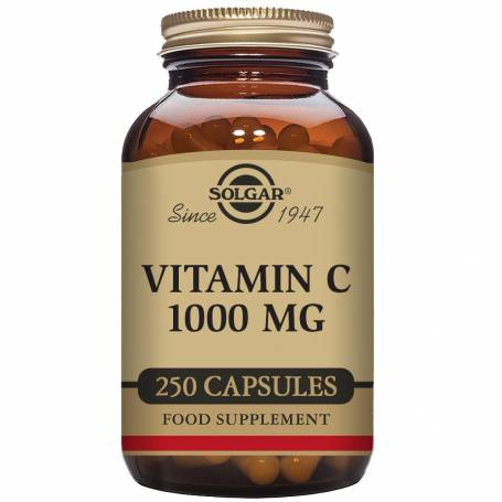 Vitamina C 1000. 250 cápsulas vegetales