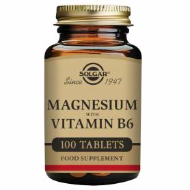 Magnesio + B6. 100 comprimidos