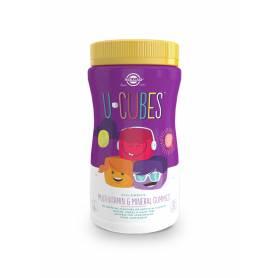 U-CUBES. 120 gominolas masticables para niños