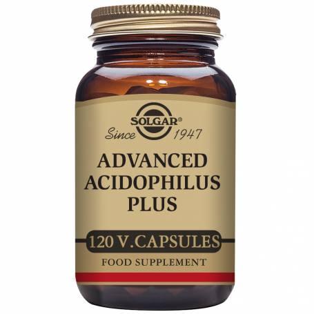 Acidophilus plus avanzado (no lácteo). 120 cápsulas vegetales