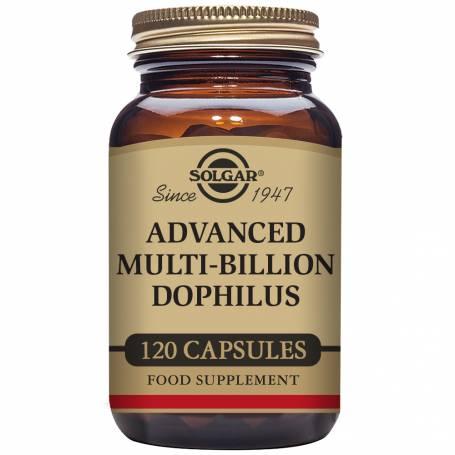 Multi Billion dophilus avanzado (no lácteo). 60 cápsulas vegetales
