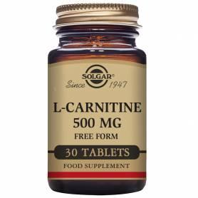 L-Carnitina 500 mg. 30 comprimidos