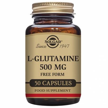 L-Glutamina 500 mg. 50 comprimidos