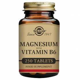 Magnesio + B6. 250 comprimidos