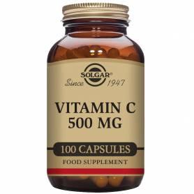 Vitamina C 500. 100 cápsulas vegetales