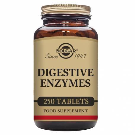Enzimas digestivas. 250 comprimidos