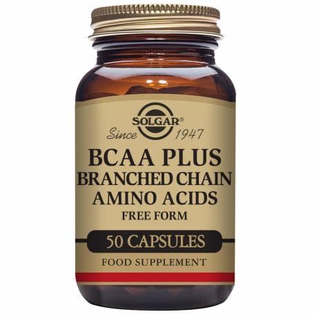 B.C.A.A. Plus. 50 cápsulas vegetales