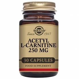 Acetil L-Carnitina 250 mg. 30 cápsulas vegetales
