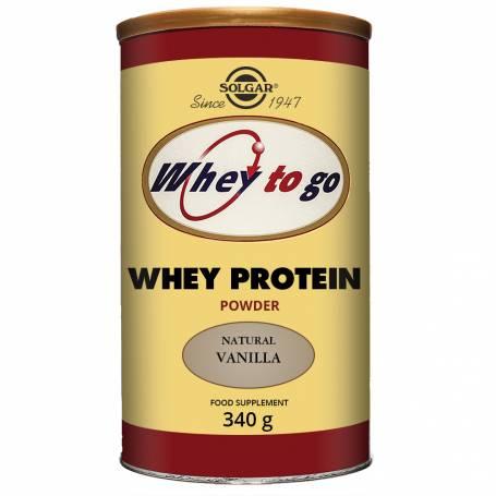Whey to go proteína de suero en polvo (Vainilla). 340 g