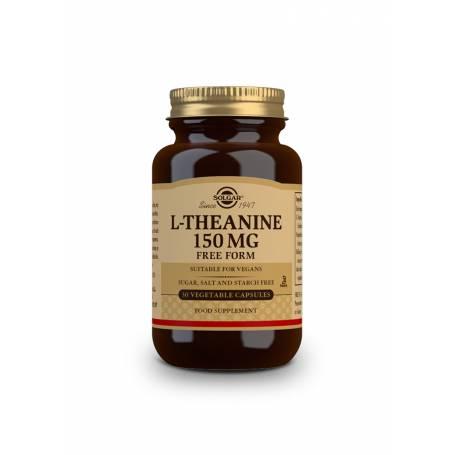 L-Teanina 150 mg. 30 cápsulas vegetales