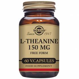 L-Teanina 150 mg. 60 cápsulas vegetales
