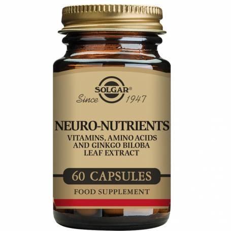 Neuro Nutrientes. 60 cápsulas vegetales