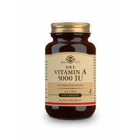 "Vitamina A ""SECA"" 5000 UI (palmitato). 100 comprimidos"