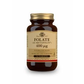 Folato (como METAFOLIN®) 400 µg. 50 comprimidos