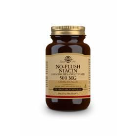 Niacina no ruborizante 500 mg. 50 cápsulas vegetales