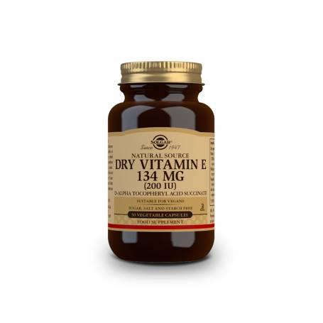 """Vitamina E """"SECA"""" 200 UI (134 mg). 50 cápsulas vegetales"""