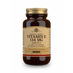 Vitamina E 200 UI (134 mg). 250 cápsulas blandas