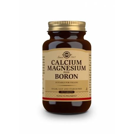 Calcio / Magnesio Plus Boro. 250 comprimidos