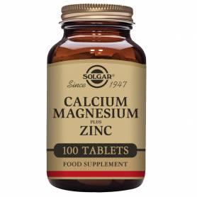 Calcio / Magnesio Plus Zinc. 100 comprimidos