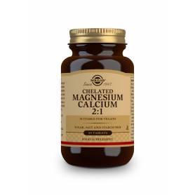Magnesio / Calcio Quelado 2:1. 90 comprimidos