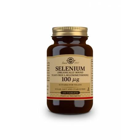 Selenio 100 µg (sin levadura). 100 comprimidos