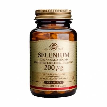 Selenio 200 µg (sin levadura). 100 comprimidos